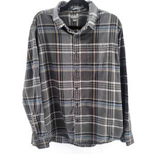 Eddie Bauer Men's plaid flannel cotton Classic Fit